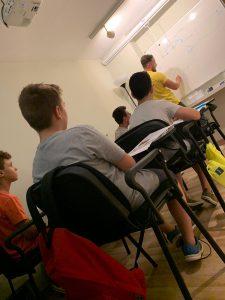 Escuela de verano en Valencia.